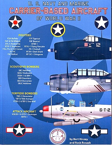 US Navy and Marine Carrier Based aircraft of Word War II