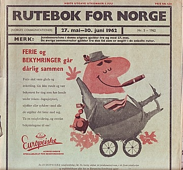 Rutebok for Norge 1962-05