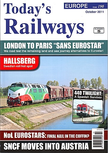 Hallsberg: a Swedish rail hot spot