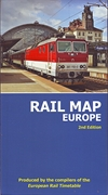Rail Map Europe. 2nd edition