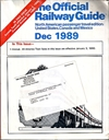 The Official Railway Guide. Dec 1989